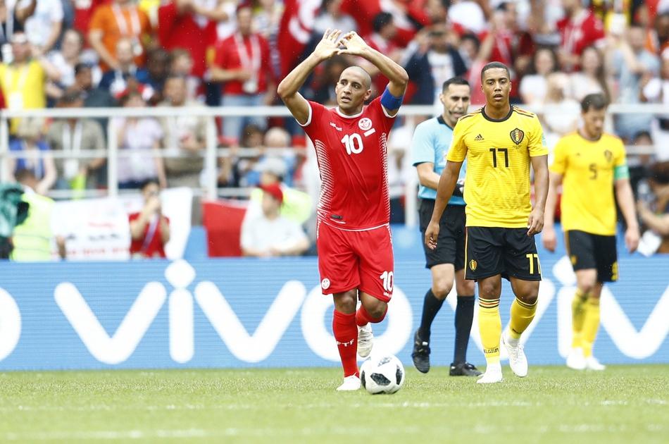 非凡时刻:比利时5-2突尼斯