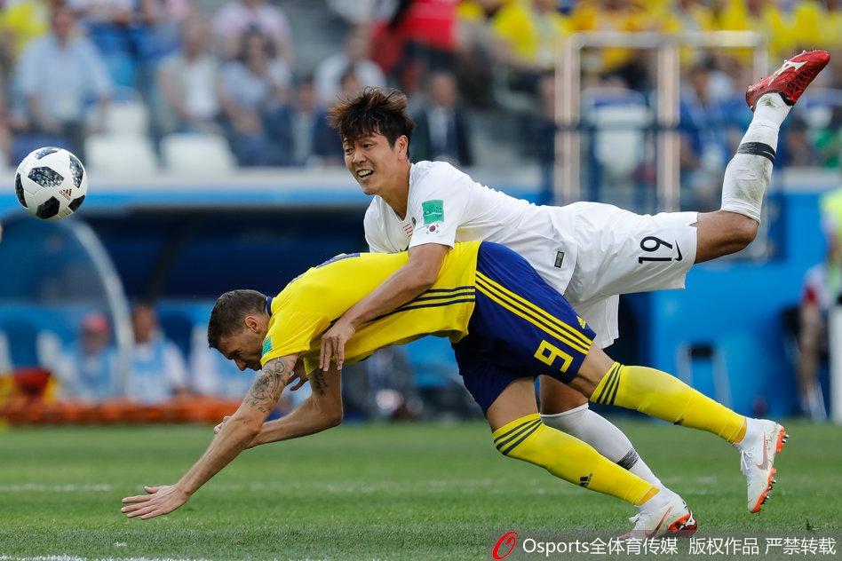 韩国队本届世界杯犯规瞬间