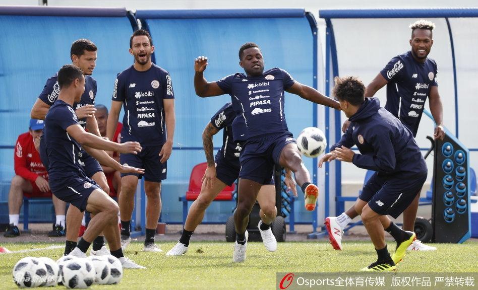 世界杯哥斯达黎加备战训练