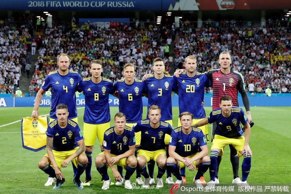 回顾瑞典队世界杯之旅