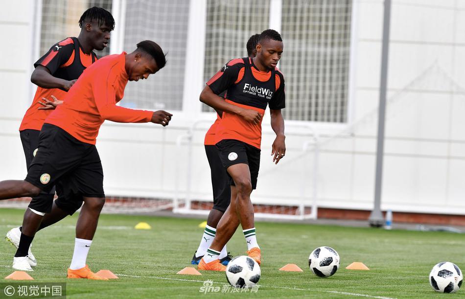 塞内加尔队训练备战