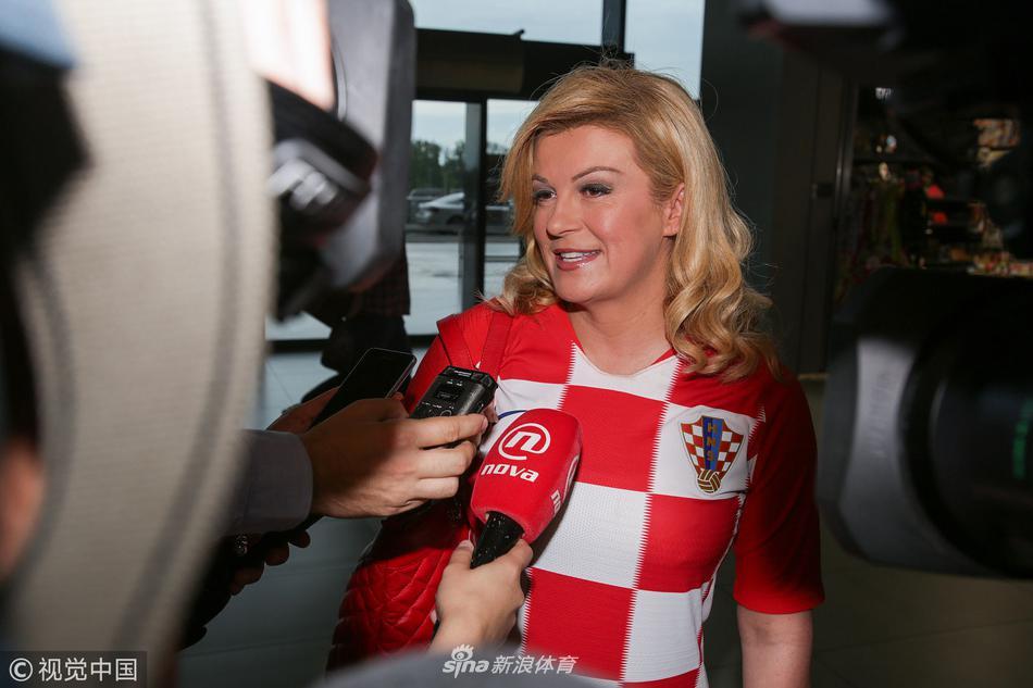 克罗地亚美女总统接受采访