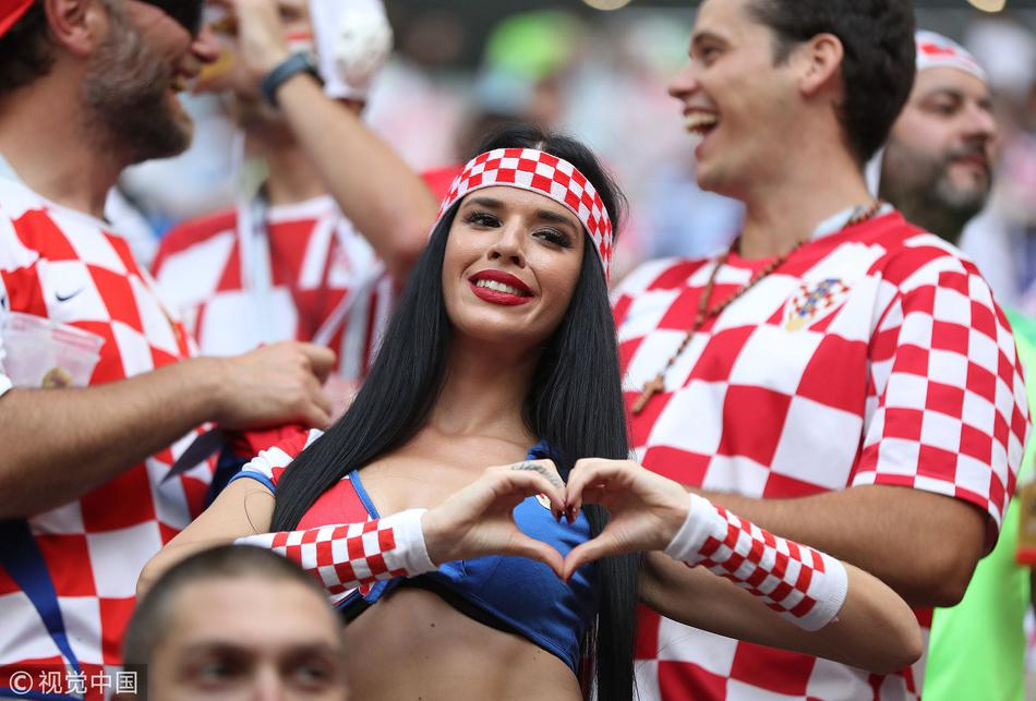克罗地亚超性感美女球迷