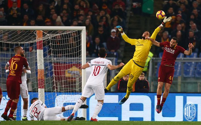 2019年02月04日 意甲第22轮 罗马vsAC米兰 全场录像回放
