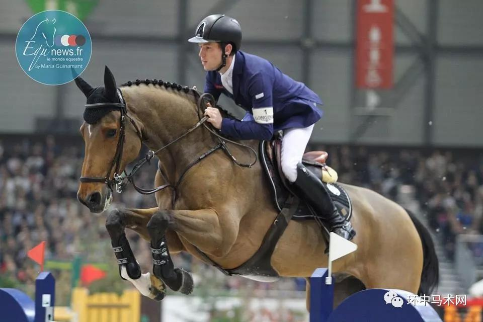斯科特·布拉什(Scott Brash)与他的爱驹Hello Sanctos