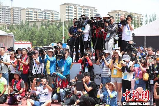 媒体聚焦。 杨迪 摄