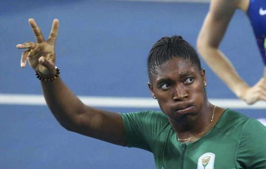 塞门娅参与里约奥运会