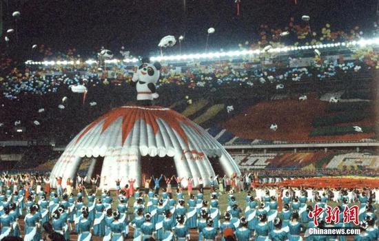 特写|北京亚运会三十年 承载国人最热切期待