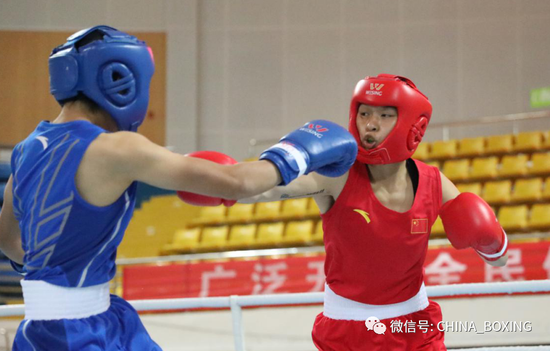 2020女子拳击全锦赛第四比赛日 各级别四强产生