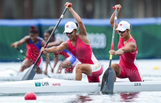 金牌很宝贵 突破更可贵--中国皮划艇队未来可期