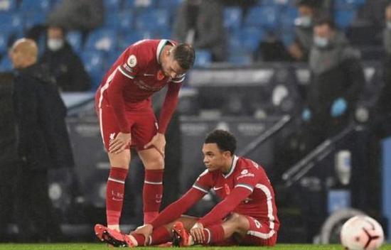 利物浦遭遇伤病潮