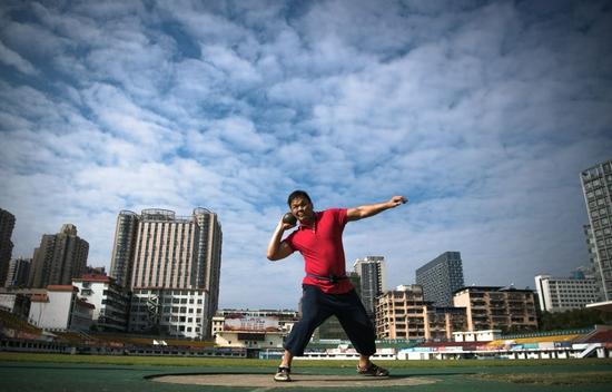 体育就是我的光——一位52岁盲人运动员的自白