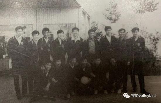 中国排球史连载(13):中国男排的兴起与坎坷