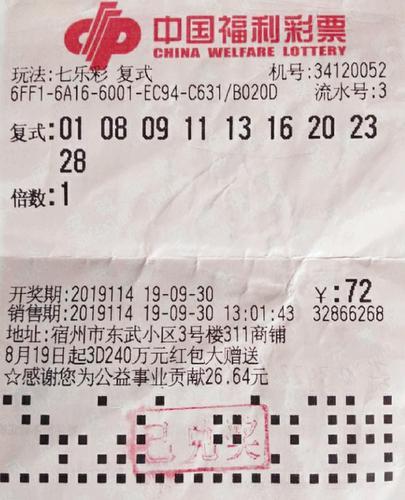铁杆老彩民长假前命中福彩292万 等领奖时真煎熬