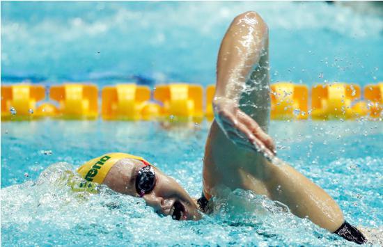 澳大利亚女将险些打破200米自由泳世界纪录