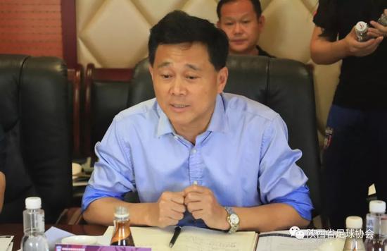 中国足协执委、陕西省体育局副局长、省足球协会主席董利