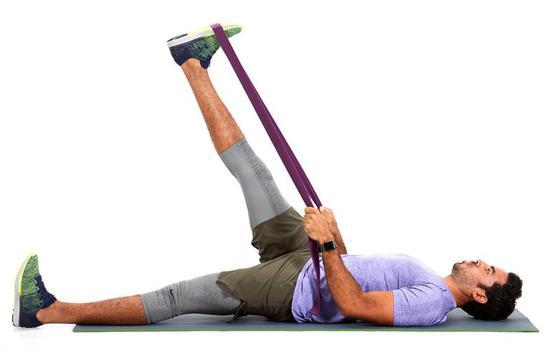 灵活性测试:仰卧腿部伸展