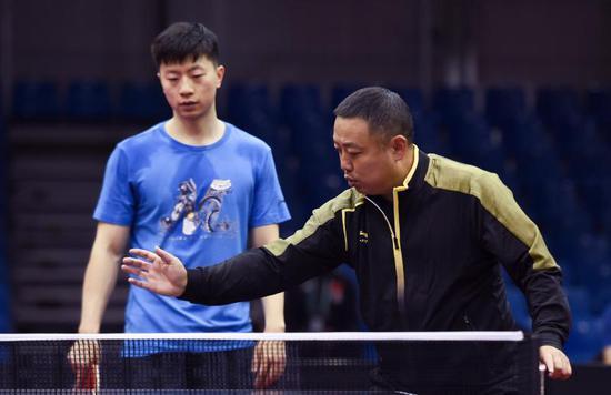 从运动员到中国乒协掌门人日本老帅揭刘国梁法宝