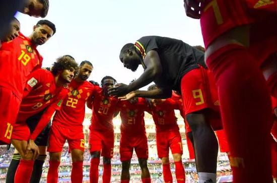 2018世界杯比利时队名单: