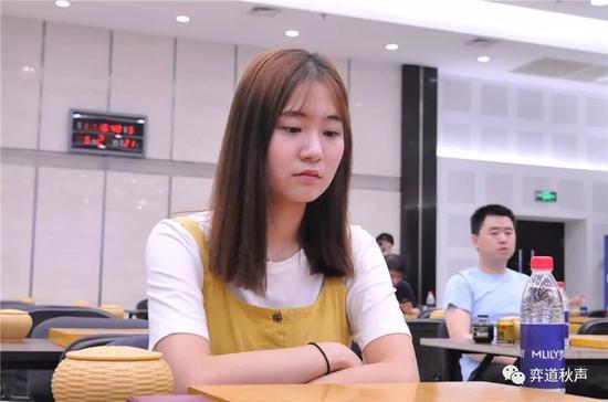 韩国女将吴侑珍出线