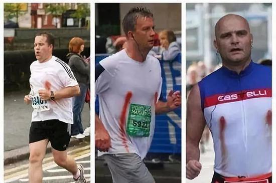 Q3:为何男跑友的乳头比女跑者更容易流血?
