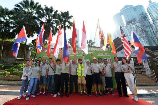 东盟国际汽车拉力赛于新山举行收车仪式