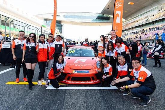 追星车队再次获得年度经销商冠军车队