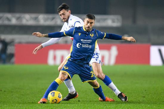 意媒:那不勒斯有意维罗纳中场 但球员更希望去米兰