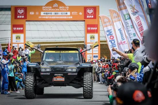 2018环塔排位赛:硬虎Optimus巴吉闯进组别前三甲