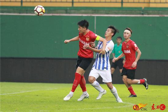 预备队联赛综述:华夏幸福主场逆袭 豪取9连胜登顶