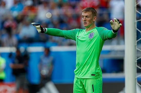 俄罗斯世界杯后的皮克福德已有价无市。