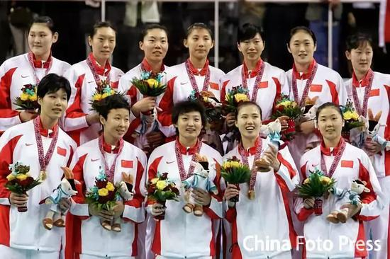 多哈亚运会上的中国女排
