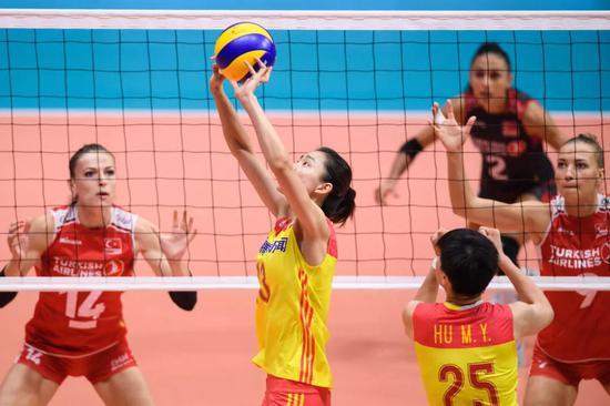 中国女排世锦赛名单雏形 14人阵容或只差1人未定