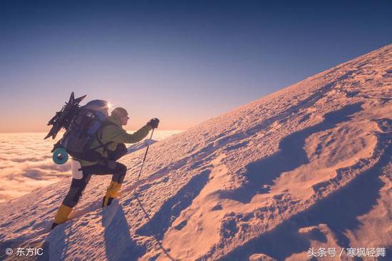 进走登山活动需仔细坦然