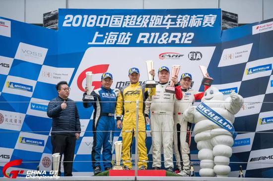 中国超级跑车锦标赛第十二回相符GTC组Am-Am车手授奖