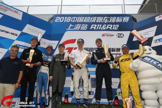 中国超级跑车锦标赛第十二回相符GTC组授奖