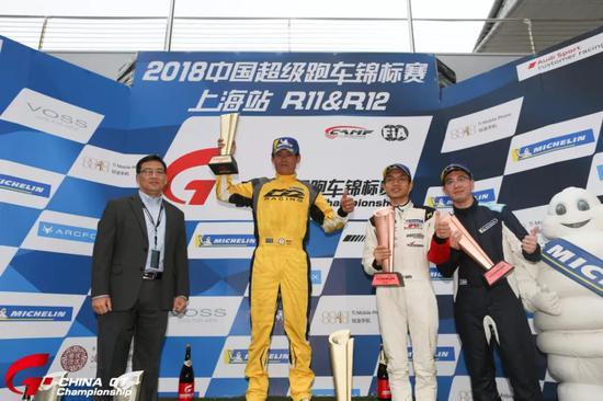 中国超级跑车锦标赛第十二回相符GT3组Am-Am车手授奖