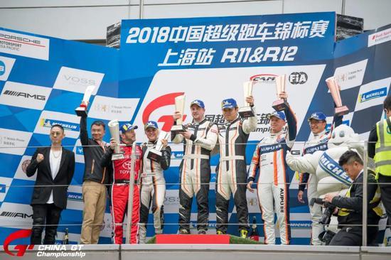 中国超级跑车锦标赛第十二回相符GT4组授奖