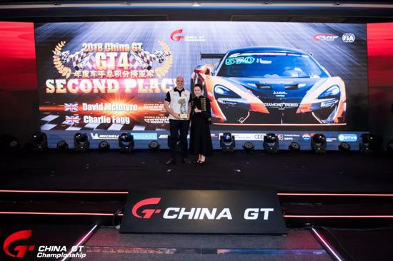 GT4组年度车手总积分榜亚军 The Winning Team David Mclntyre/Charlie Fagg
