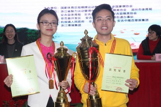 象棋个人赛唐丹汪洋夺得冠军