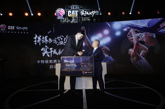 姚明又为中国篮球带来赞助商。