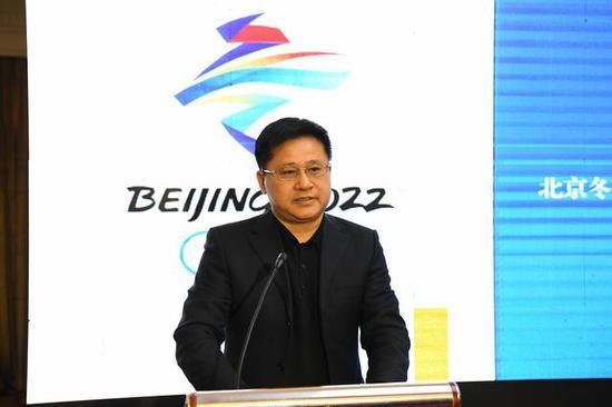 北京冬奧組委新聞宣傳部副部長呂欽