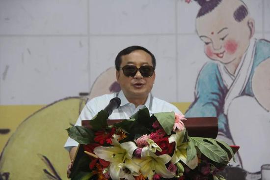 张祖林致辞