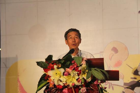 中国围棋协会原主席王汝南宣布闭幕