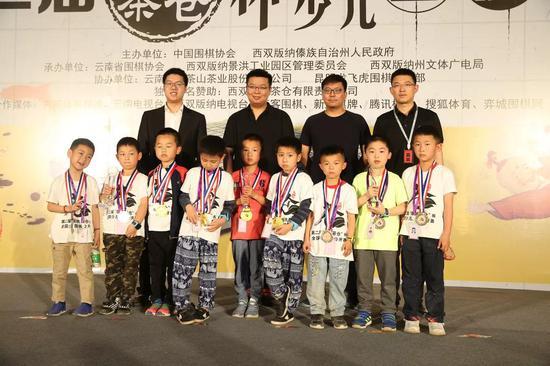 8、儿童D组团体奖: