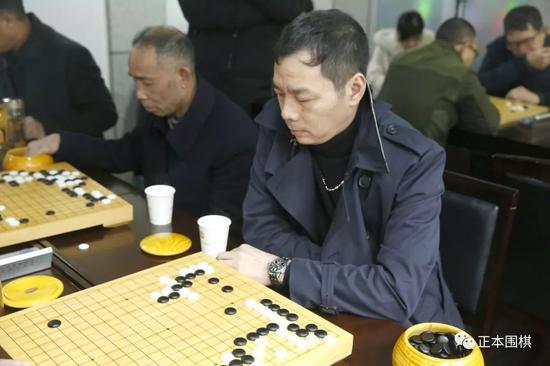 王敬(温州棋坛常青树)