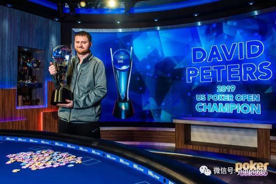 后来居上 David Peters获美国扑克赛最佳牌手