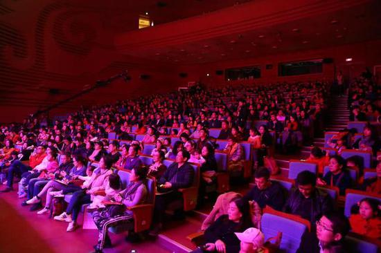 本次公演成功落下了帷幕,也为新春文化季书写了圆满的句点。