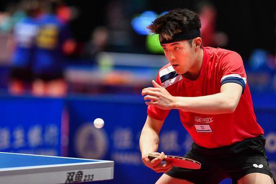 德国华裔小将锁定世乒赛资格 父亲为水谷隼教练