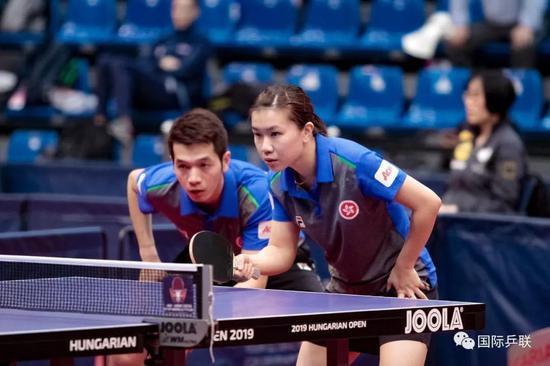 附:中国香港队参赛项目: